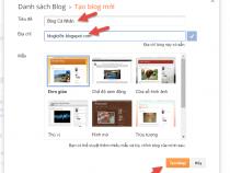 Hướng dẫn cài đặt Blogspot chi tiết từ A-Z
