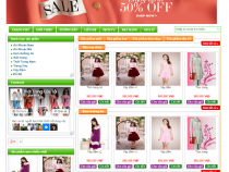 Share Template bán hàng Blogspot miễn phí