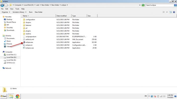 Cài đặt JDK và Eclipse 09