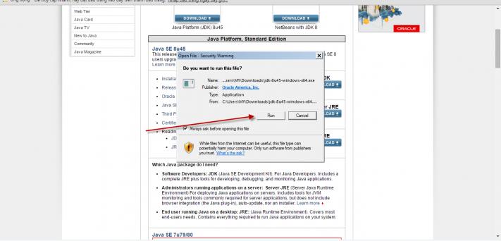 Cài đặt JDK và Eclipse 04