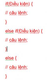 Câu lệnh điều kiện trong lập trình Java 05