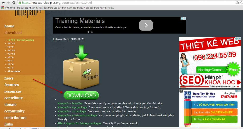 Phần mềm học Web