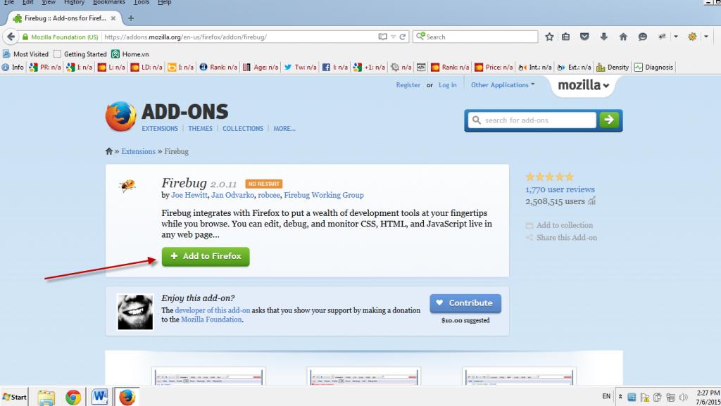 Phần mềm học Web 02