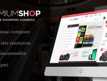 Share theme WordPress Premiumo Shopping