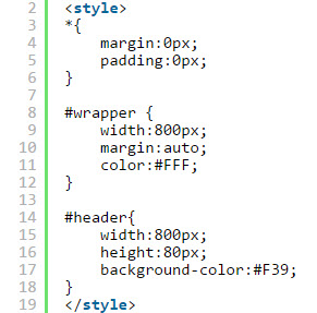 Thiết kế layout web bằng css 005
