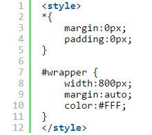 Thiết kế layout web bằng css 006