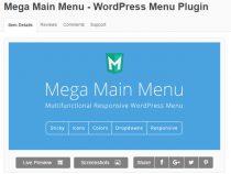 Share Plugin Mega Main Menu cho website WordPress