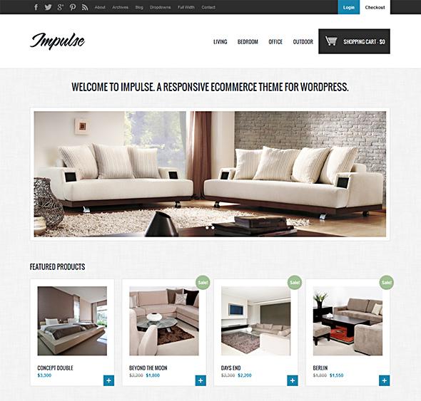 thiết kế website nội thất bằng wordpress