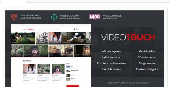 5 Theme WordPress làm web video cực chất lượng