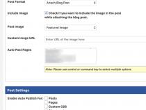 Làm thế nào để tự động đăng bài lên facebook sử dụng wordpress