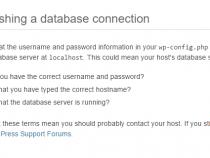 Chính thức : Cách sửa lỗi Error Establishing a Database Connection trong WordPress