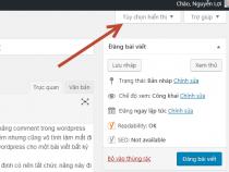Hướng dẫn tắt Comment trong WordPress nhanh qua 2 thao tác