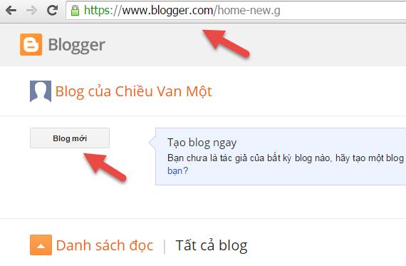 hướng dẫn cài đặt blogspot