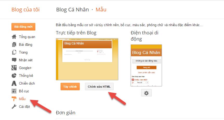 hướng dẫn cài đặt blogspot 03