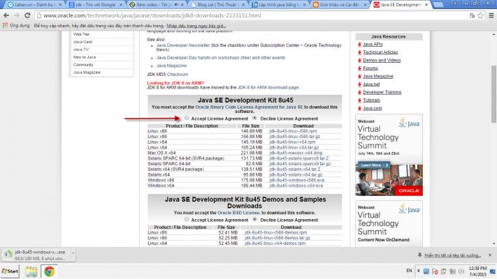 Cài đặt JDK và Eclipse 02