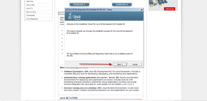 Cài đặt JDK 05