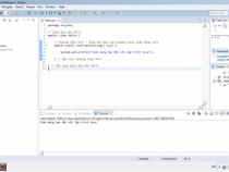 Chương trình đầu tiên trong lập trình Java