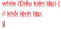 Câu lệnh lặp trong lập trình java