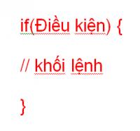 Câu lệnh điều kiện trong lập trình Java 01