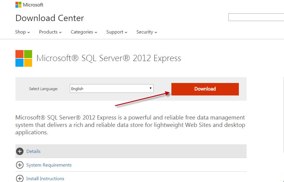 Cài đặt SQL Server 2012