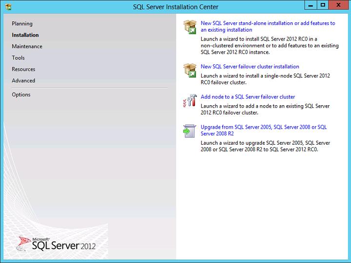 Cài đặt SQL Server 2012 02