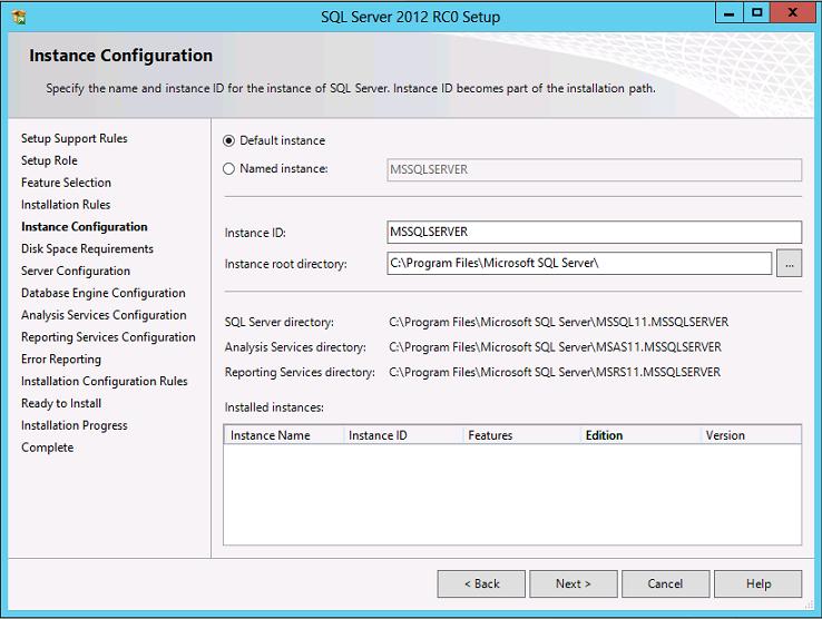 Cài đặt SQL Server 2012 001