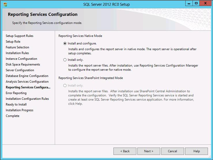 Cài đặt SQL Server 2012 008