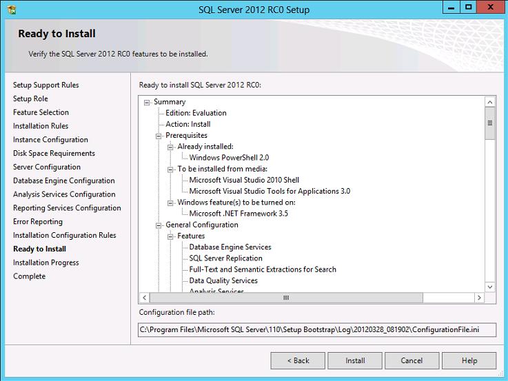 Cài đặt SQL Server 2012 012