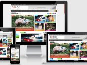 Share Template Blogspot Deco Mag Magazine
