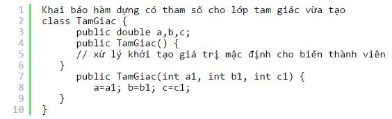 xây dựng lớp đối tượng trong java oop 05