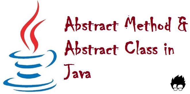 tính trừu tượng trong lập trình hướng đối tượng java