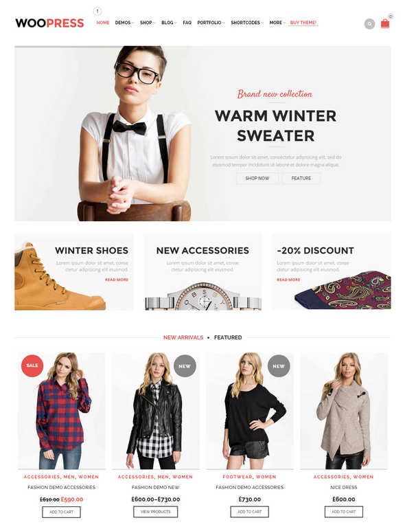 Top 10 Theme WordPress Woocommerce 2015 06