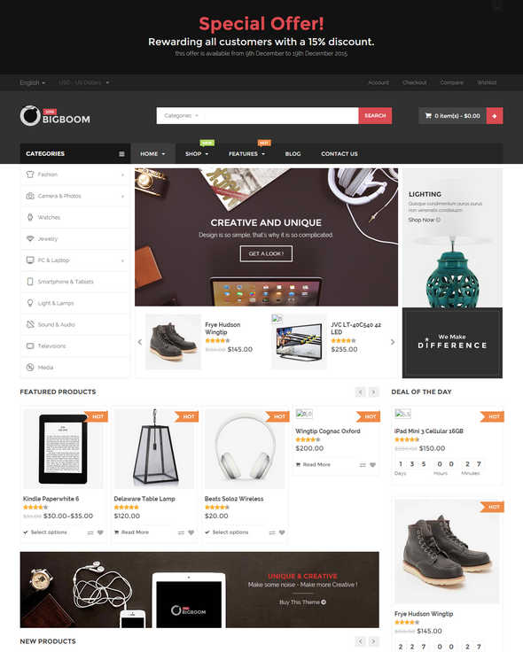 Top 10 Theme WordPress Woocommerce 2015 01