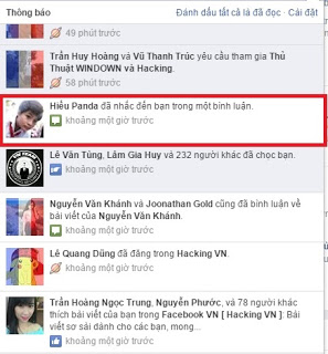 khắc phục hack facebook bằng tag tên