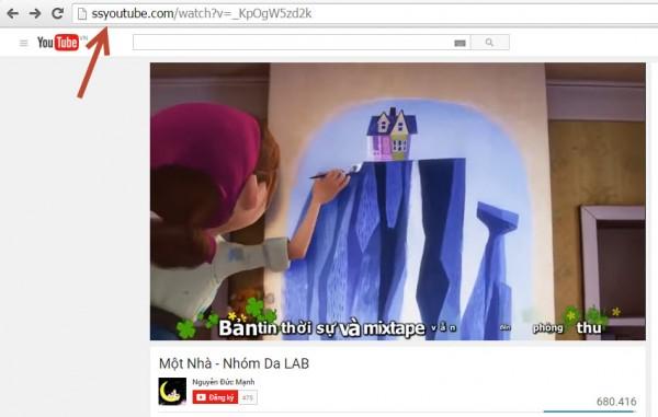 Download video trên youtube không cần phần mềm 001