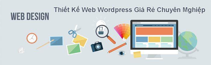 Thiết kế website wordpress giá rẻ chuyên nghiệp