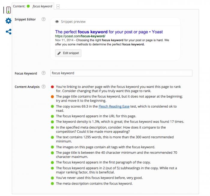 Plugin hỗ trợ SEO WordPress