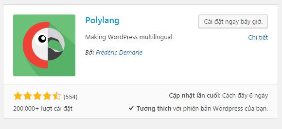 plugin wordpress đa ngôn ngữ
