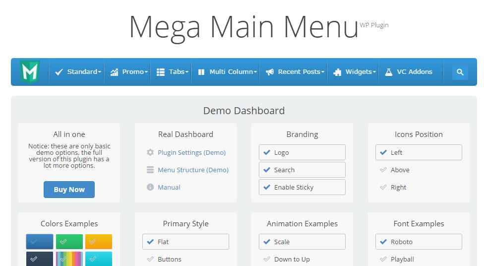Share plugin mega main menu cho wordpress