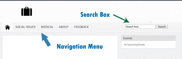 Insert box search (thêm hộp tìm kiếm) vào thanh menu trong wordpress