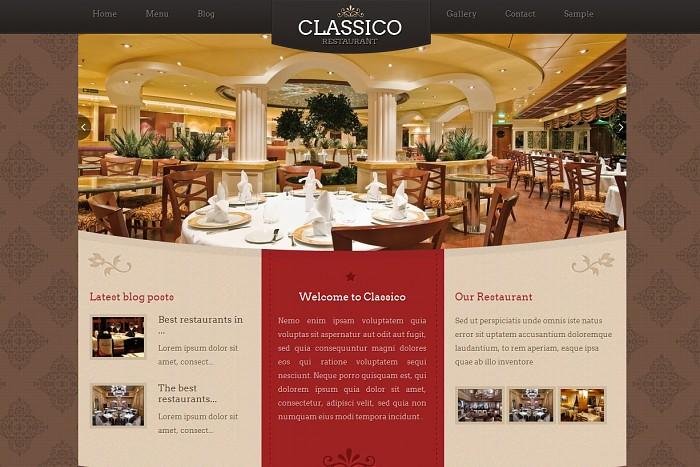 Thiết kế website nhà hàng bằng wordpress