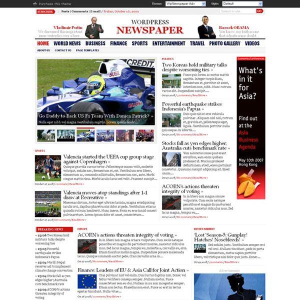Thiết kế website tin tức wordpress chuyên nghiệp