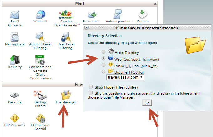 backup dữ liệu cho website wordpress