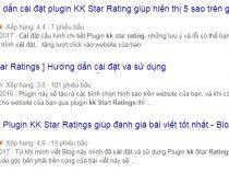 Cài đặt Plugin đánh giá 5 sao cho website wordpress