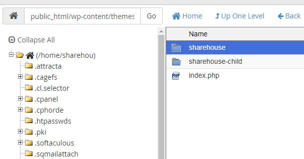 đổi tên theme wordpress