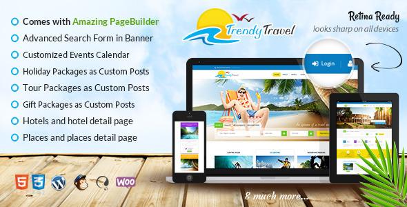 thiết kế website du lịch với wordpress