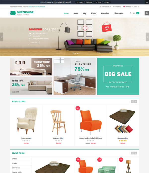 thiết kế website nội thất bằng wordpress giá rẻ