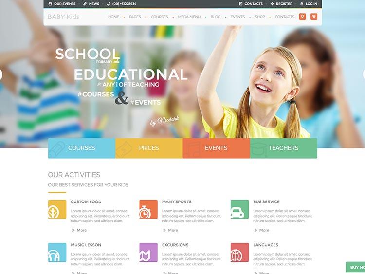 thiết kế website giáo dục bằng wordpress