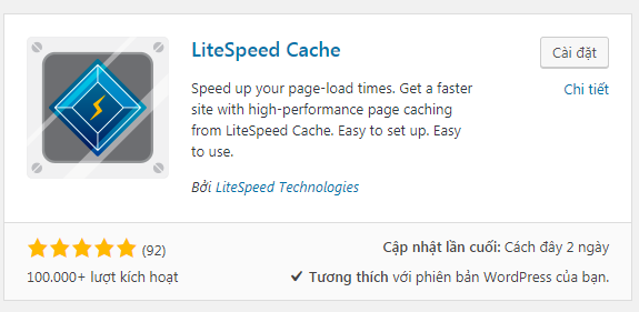 plugin litespeed cache wordpress