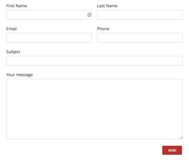 tùy biến plugin contact form 7 thành 2 cột